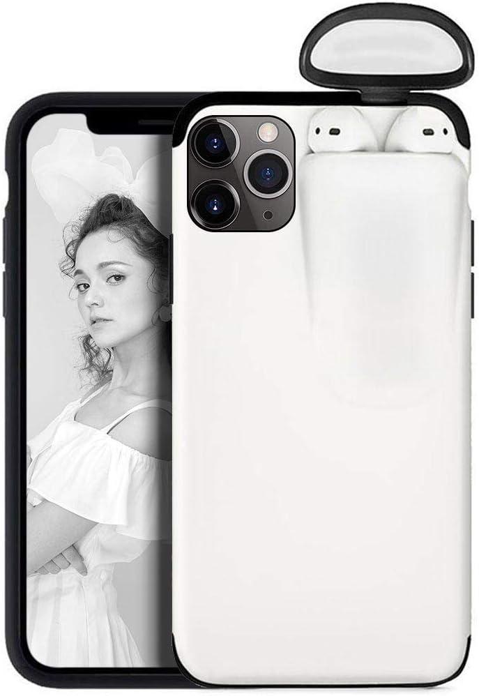 Funda portatil para iPhone 6//6S y AirPods Case,Funda Protectora de Auriculares inal/ámbricos 2 en 1 Silicona + Pl/ástico Tel/éfono para iPhone 6//6S y AirPods Carcasas y Fundas para m/óviles