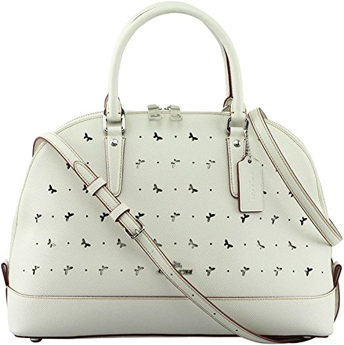Coach Perforated Leather Bag - 1