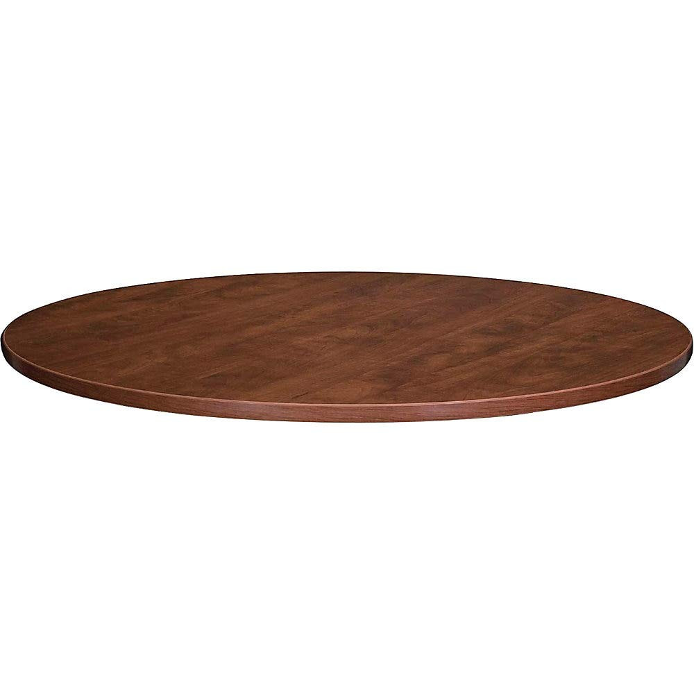 Lorell Round Tabletops, 48-Inch Diameter, Cherry by Lorell