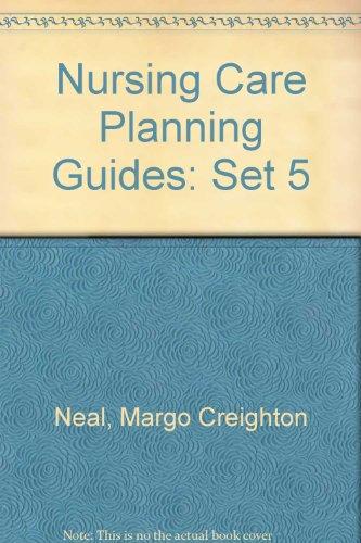 Nursing Care Planning Guides: Set 5 Manor Homes Set