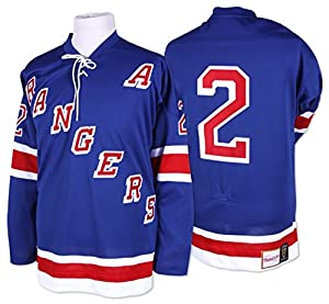 ddab4ece8 Brad Park New York Rangers Mitchell   Ness Authentic 1971 Blue NHL Jersey