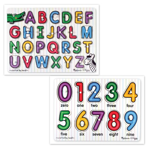 nside Alphabet and See-Inside Numbers Puzzles Set of 2 Items (See Inside Alphabet Puzzle)