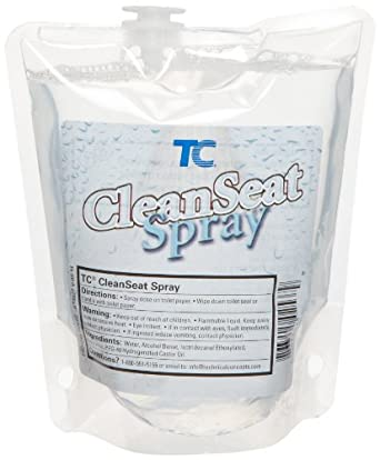 Rubbermaid Commercial FG402537 Clean Seat Spray Toilet Cleaner Refill, 400ml