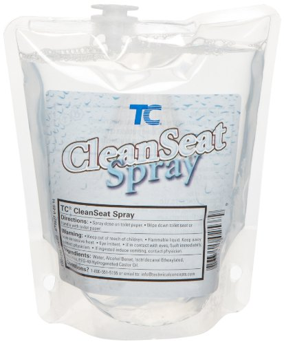 Rubbermaid Commercial FG402537 Clean Seat Spray Toilet Cleaner Refill, 400ml by Rubbermaid Commercial Products