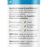 Natural Crystal Deodorant Spray by SweatBlock