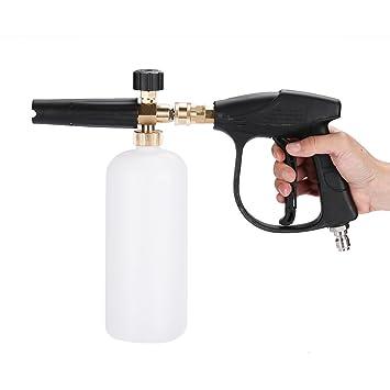Pistola de espuma de presión ajustable para pistola de coche a presión, espuma de nieve