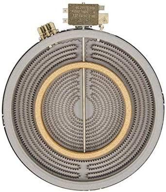 Remle – Resistencia placa vitrocerámica Teka 2100W 220V diámetro 210/120 mm EGO 1051211002