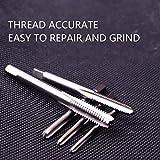 Atoplee 5pcs Machine Screw Metric Thread Plug Taps