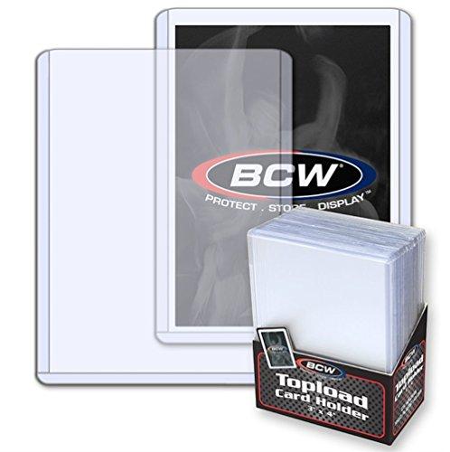 200 Ct. 3 X 4 Top Load Card Holders PLUS 200 Card Penny Sleeves - Baseball - Hockey - Basketball - Football - Soccer - MTG - YU-GI-OH! - Toploaoders