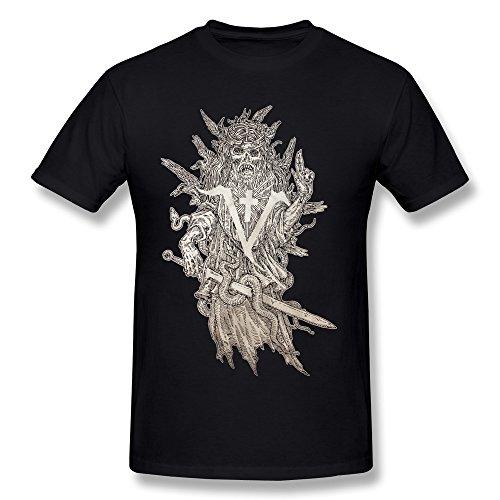 JIAYUHUA Men's Saint Vitus Band T-shirt - St Bleeker