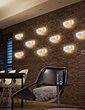 SOLFART LED up Down Wall Lights Indoor Wall Sconce