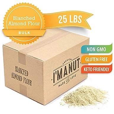 Im A Nut harina de almendra 25 Lbs sin gluten certificado ...