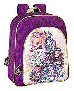 Ever After High - Mochila junior adaptable a carrito, 32 x 38 x 12 cm (Safta 611407640): Amazon.es: Equipaje