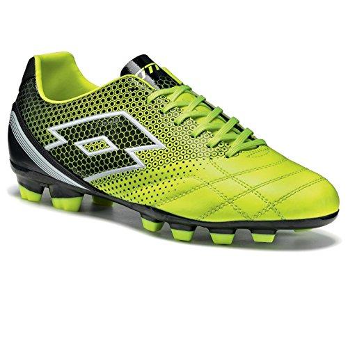 Lotto Spider 700 Xiii Fgt, Chaussures de Football Homme, Multicolore-Amarillo / Negro (Ylw Saf / Blk), 40 EU