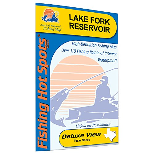 Reservoir Fishing Map - Fork Reservoir Fishing Map, Lake