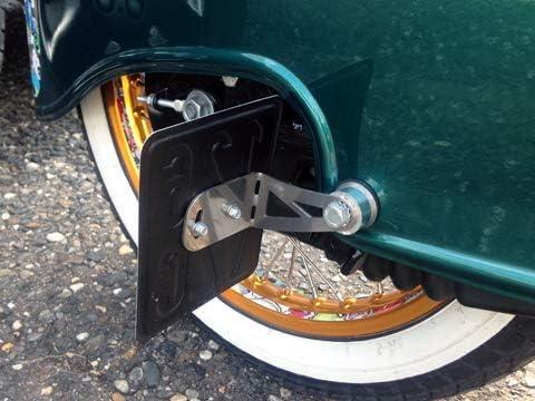 Kennzeichenhalter Seitlich Für Simson Schwalbe Kr51 1 50ccm S51 S50 S53 Sr50 Kr50 S70 Roller Tuning Nummerschildhalter Auto