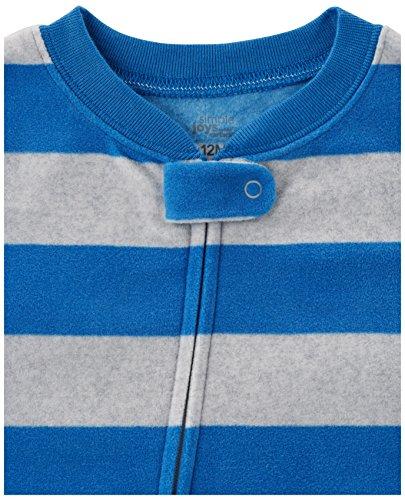 اسعار Simple Joys by Carter's Baby and Toddler Boys' 3-Pack Loose Fit Fleece Footed Pajamas