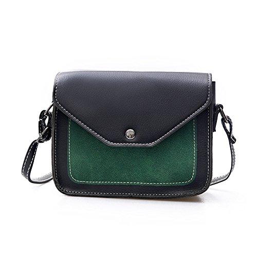diagonal pequeño bandolera azul de Hombro bolsos brown YIUXB señoras diagonal de color moda cuadrado coreana bolso golpeó bolso 7Hw6wqZ