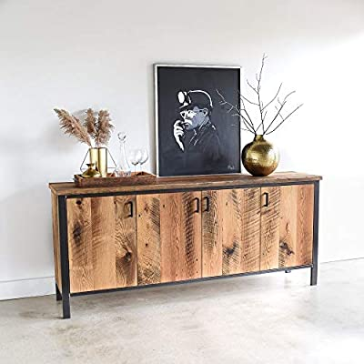 Modern Reclaimed Wood Storage Buffet -  - sideboards-buffets, kitchen-dining-room-furniture, kitchen-dining-room - 51si5PK KDL. SS400  -