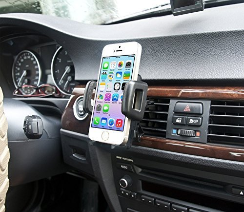 - IBRA Dedicated Air Vent Car Holder Mount Black Vehicle Louvers Phone Cradle Mount for Apple iPhone 6/6 Plus / 5/4 / 4s / 3G / 3 and iPod Series 2015 Model
