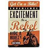 Harley-Davidson® Rebel Metal Sign
