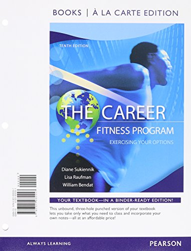 The Career Fitness Program: Exercising Your Options, Books a la Carte Edition Plus NEW MyStudentSuccessLab 2012 Update -- Access Card Package (10th Edition)