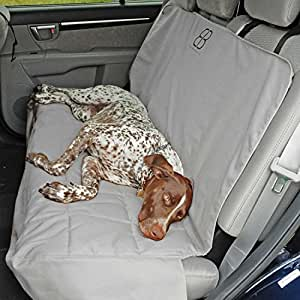 Motor Trend by Petego Rear Car Seat Protector for Pets, Gray