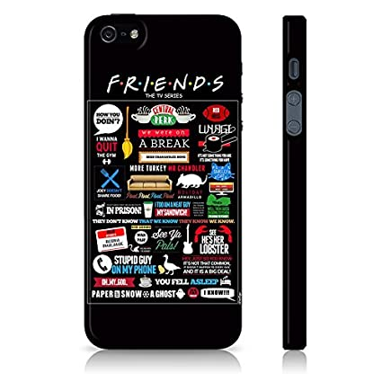reputable site d8683 571de Friends Back Case for iPhone 5/5S: Amazon.in: Electronics