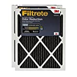 Filtrete Clean Living Home Odour Reduction Filter, MPR 1200, 16x25x1, 2-Pack