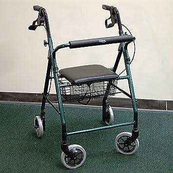 Amazon.com: Invacare? Andador de aluminio asiento suave ...