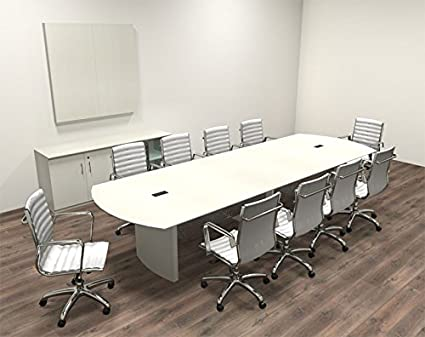 Amazoncom Modern Contemporary Feet Conference Table MTMED - 12 foot conference room table