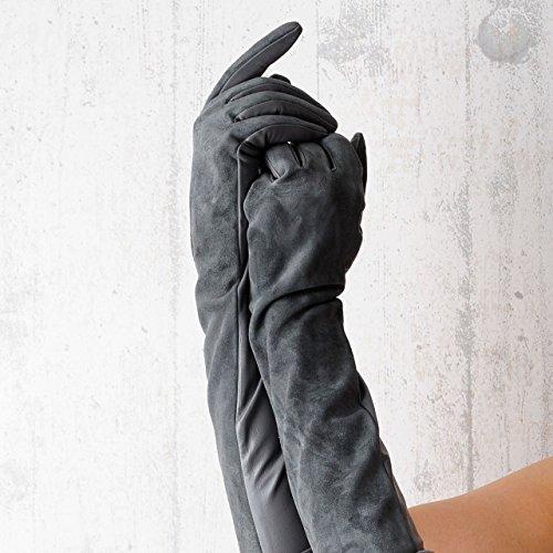 野菜うがい薬情熱GLOV レディース革手袋 本革手袋 レディース レザー手袋 手袋 上品 革手袋 黒ブラック クリスマス プレゼント ギフト 9149n44 [並行輸入品]