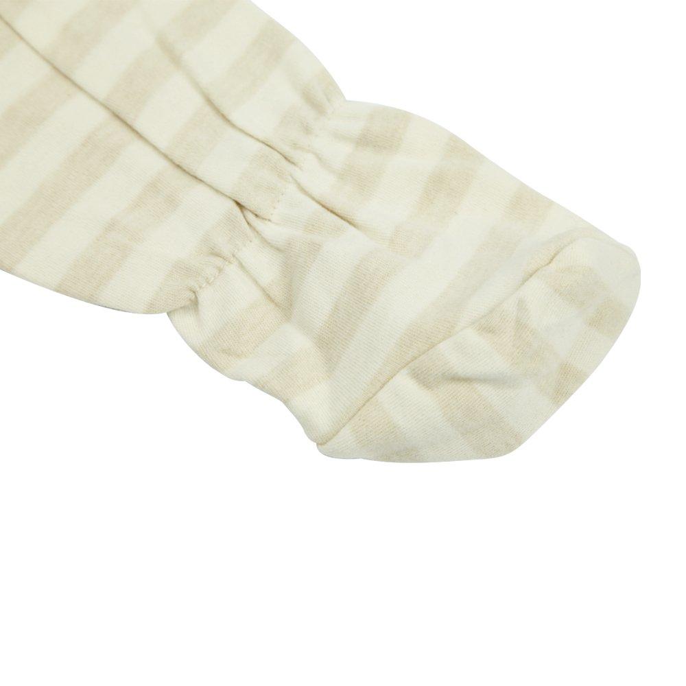 Bib,Skull Cap,Open Toe Pants Khaki Long Sleeve Cardigan Closed Toe Pants zenicham Unsex Baby 5 PC Layette Set