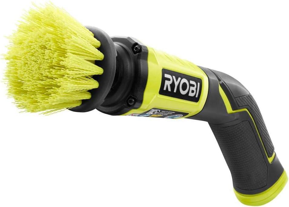 RYOBI P4400 4-Volt Cordless Compact Scrubber with internal 4-Volt Battery