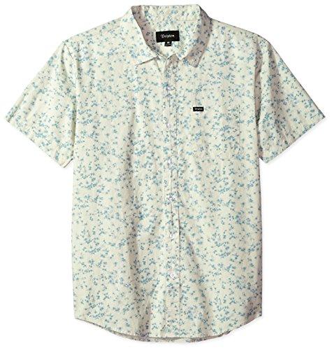 9f327f664f3 Brixton Men s Charter Standard Fit Short Sleeve Woven Shirt