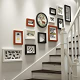ZGP Home@Wall photo frame Photo Frame Wall Staircase Photo Wall Wall Frame Set Of 13 Pcs, Frames,Picture Photo Frame Set (Color : B)