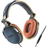 House of Marley Rise Up On Ear Headphones - Blue Denim