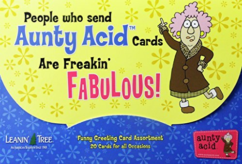 All Occasion Funny Greeting Card Assortment Boxed Greeting Cards - 20 Cards & 22 Envelopes