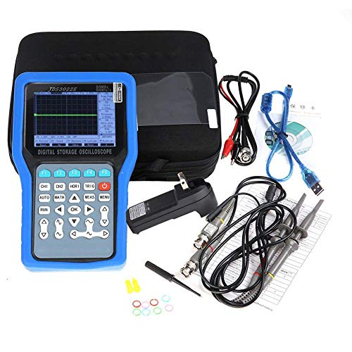 2CHデジタルオシロスコープ50MHz 500MSa/S信号発生器AC110-220V JDS3022E