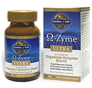 Garden of life o zyme ultra ultimate - Garden of life digestive enzymes ...