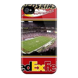 Iphone 4/4s PNi5939WXPl Custom Beautiful Washington Redskins Pattern Bumper Phone Cases -MansourMurray