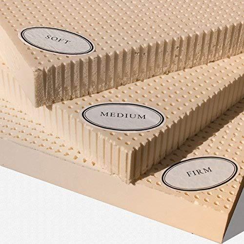 100% Natural Latex Mattress Topper - Medium - 3' Queen