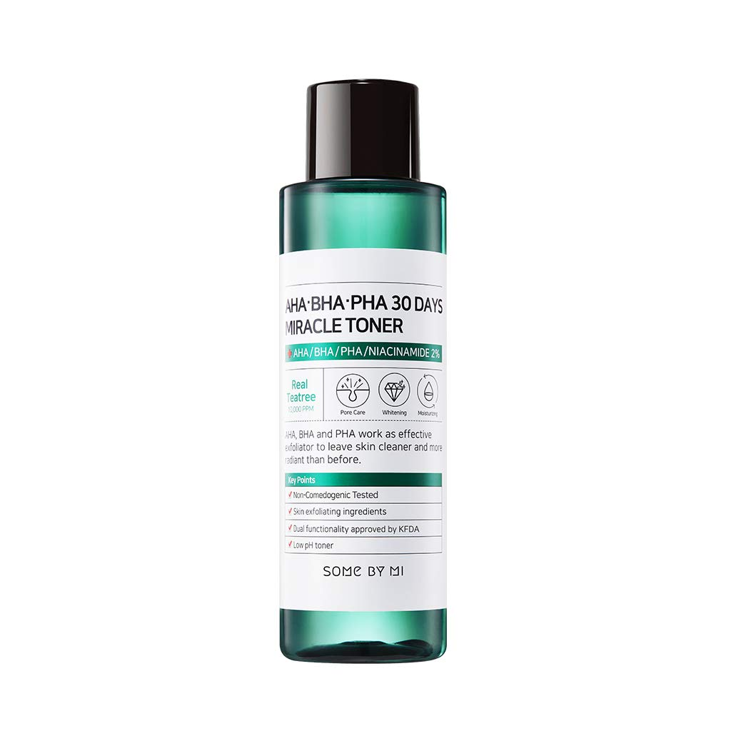 SOME BY MI Aha.Bha.Pha 30Days Miracle Toner 150ml (5oz) Anti-acne Exfoliation Hydration Brightening by SOME BY MI