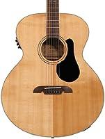 Alvarez abt60e barítono – Guitarra acústica/eléctrica: Amazon.es ...