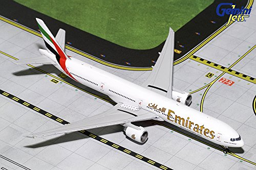 GeminiJets Emirates B777-300ER A6-ENG 1:400 Scale Diecast Model Airplane (Emirates 1 400)
