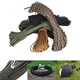 Sweetfun Survival Gear Nylon Cordage Parachute Rope 100...