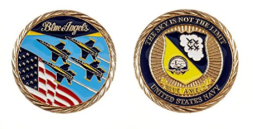 US Navy Blue Angels Challenge Coin