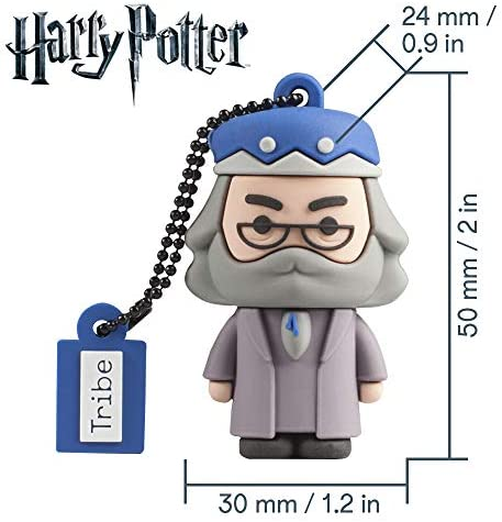 Llave USB 16 GB Albus Dumbledore - Memoria Flash Drive Original Harry Potter, Tribe FD037504