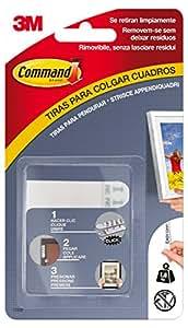 Command 17202 tiras para colgar cuadros blanco peque as for Tiras para colgar cuadros