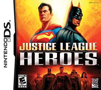 Amazon.com: Justice League Heroes - Nintendo DS: Artist Not Provided: Video  Games